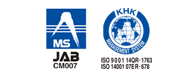 MS JAB CM007 KHK ISO9001 and ISO14001 certifications obtained
