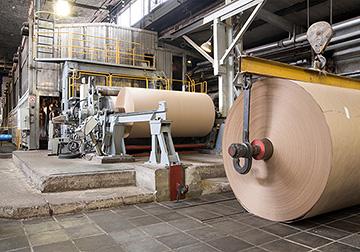 パルプ・紙業種への適用例