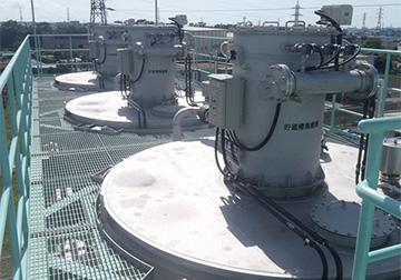 粉末活性炭注入設備
